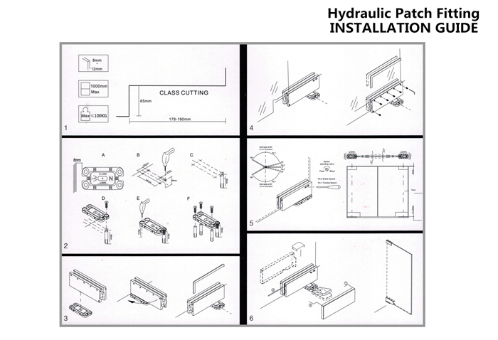 Glass Hydraulic Patch Fitting