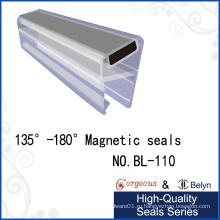 Магнитные резиновые защитные полосы для стеклянной двери