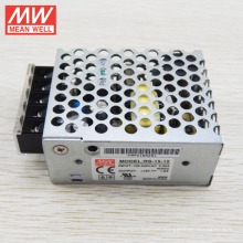 MW Single Output 15W 12V DC Schaltnetzteil UL RS-15-12