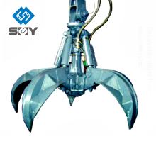 Hydraulischer Schrottgreifer, Stahlschrottgreifer, hydraulischer Greiferkran