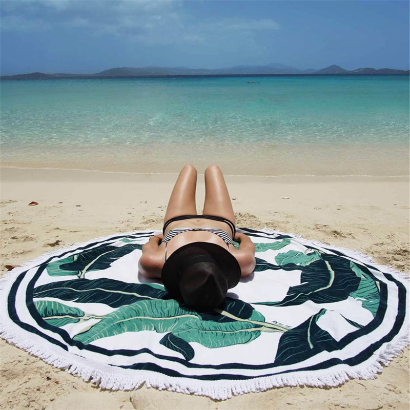 Round Beach Towel Best and Less