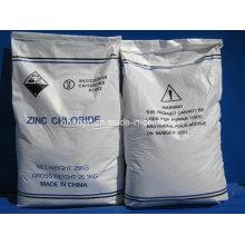 Хлорид цинка Zncl2 (номер CAS: 7646-85-7)