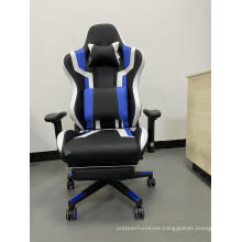High Back Swivel Computer Gaming Chairs With Footrest