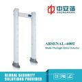 24 zonas de alarma de control remoto de la puerta de la puerta del detector de metales