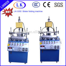 2015 new design PVC three edge folding machine for blister packing box