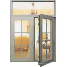 Fenêtre en aluminium de rupture thermique de battement de Feelingtop
