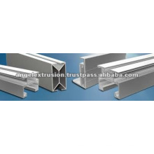 Perfil de aluminio para montaje de marco
