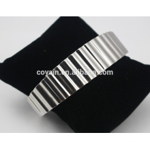 2016 Wholesale High Quality Blank Cuff Bracelet Jewelry Stainless Steel Bracelets