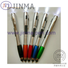 Продвижение светодиодный ручка Жм-M034 с одного касания Stylus