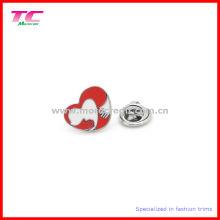Мода кнопки металлический воротник Pin Знак