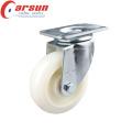 Rodízio de nylon da roda do dever médio de 125mm com freio total