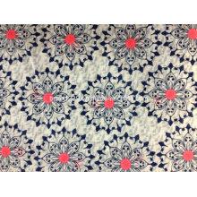 100% хлопчатобумажная двубортная ткань с печатью для одежды