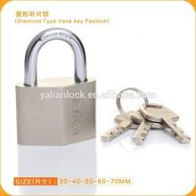 New Style Rhomboid Vane Key Disc Mechanism Padlock