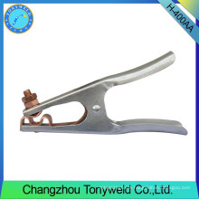 400A Holland type tig ground clamp earth clamp