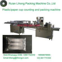 Lh-450 Triple-Row Disposable Paper Cup Counting and Packaging Machine