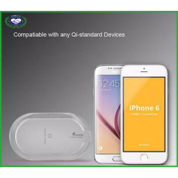 2016 Neu angekommen 3 Spulen Qi Wireless Ladegerät für iPhone und Samsung