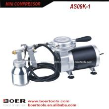 Compressor de ar portátil com pistola de baixa pressão 472