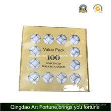 4hour Value Pack Unscented Weiße Teelichtkerze