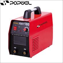 Eléctrodos de soldadura Preço IGBT Switches Máquina de soldadura de alumínio IGBT 180