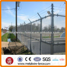 Military powder coated 358 high security fence
