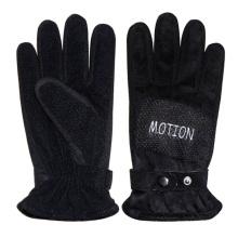 Мужская мода черный PU кожаные спортивные перчатки (YKY5010)