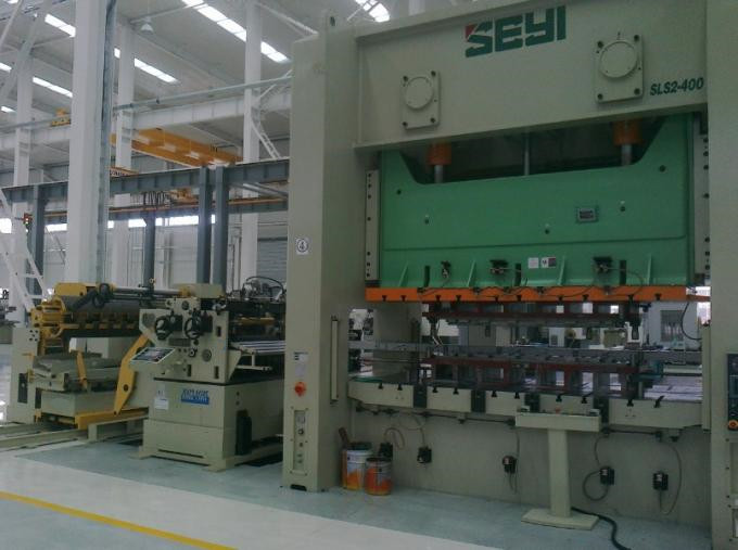 NC Roll Feeder Line with Uncoiler And Straightener