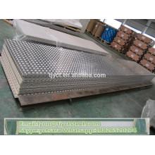 1050 folha de alumínio em relevo piso de alumínio placa de verificador preço