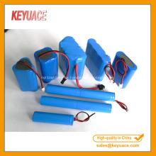 Tubo azul del encogimiento del calor del paquete de la batería azul
