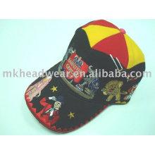 Heavy embroidery carnival baseball cap