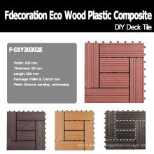 9 modelos para escolher as telhas compostas de madeira do plástico WPC