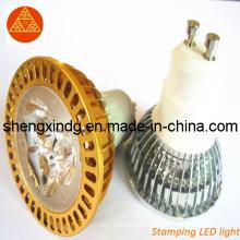 Carimbando as peças / Metal Stamping / perfuração LED Cup LED Cover LED Habitação Shell (SX004)