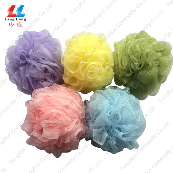 colorful bathroom sponge