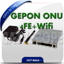 Gepon Tri-Play Network ONU avec WiFi
