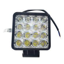 5 Zoll 48 Watt, das LED Arbeitslicht-12V nicht für den Straßenverkehr Selbst 48W LED Arbeitslicht für Auto bearbeitet