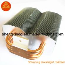 Estampillage radiateur / radiateur de radiateur de réverbère de rue (SX007)