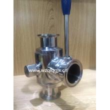 304 / 316L Vanne à billes en acier inoxydable sanitaire en acier inoxydable
