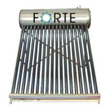 Collecteur de chauffe-eau solaire compact de 180 L
