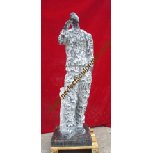 Stone Marble Sculpture Carving Abstract Statue for Garden Art (SY-A012)