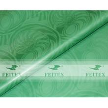Fabric Green Damask Shadda Bazin Riche Guinea Brocade for 2016 Wedding Party in Stock