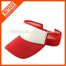 fashion outdoor headwear polyester visor cap