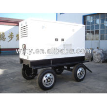 40kw Four Wheels mobil generator set