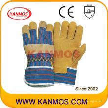 Industrial Safety Pig Split Leather Work Gloves (21001)