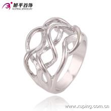 Moda Popular Simples Sem Pedra Prateado Design de Jóias Anéis de Dedo para As Mulheres - 13549