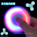 2017 LED Flash Light Hand Spinner ABS LED Fidget Spinner Finger Fringer tip Gyro Spinner
