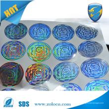 Anti-gefälschte benutzerdefinierte holographische Aufkleber Anti-Diebstahl-Aufkleber Sicherheit echte Hologramm
