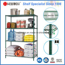 Epoxy Coated Metal Restaurant Kitchen Wire Storage Shelving