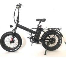 Bicicleta eléctrica ebike de la nieve del neumático gordo plegable 20inch