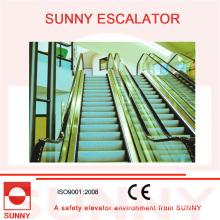 Escada rolante subaquática de alta economia de energia com baixa velocidade de 15 FPM e alta velocidade de 100 FPM