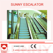 Escada rolante secundária da economia de energia do dever super com baixa velocidade 15 FPM e alta velocidade 100 FPM