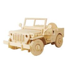 Бутик бесцветных игрушечных игрушечных автомобилей-джип